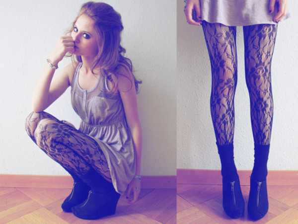 dress tights pants shoes