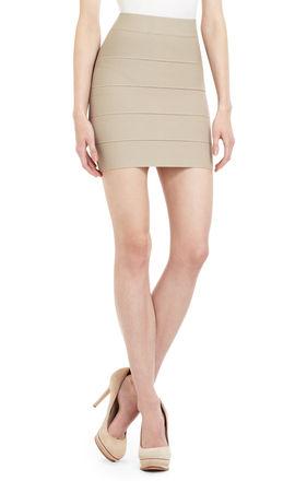 Simone Textured Power Skirt | BCBG