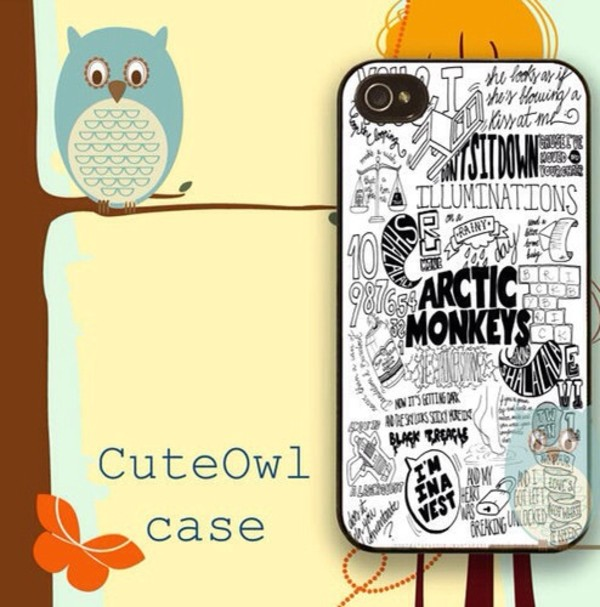 jewels am arctic monkeys iphone 4s phone casr