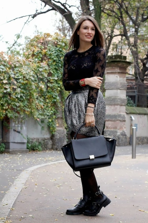 style and trouble blouse skirt shirt shoes bag jewels