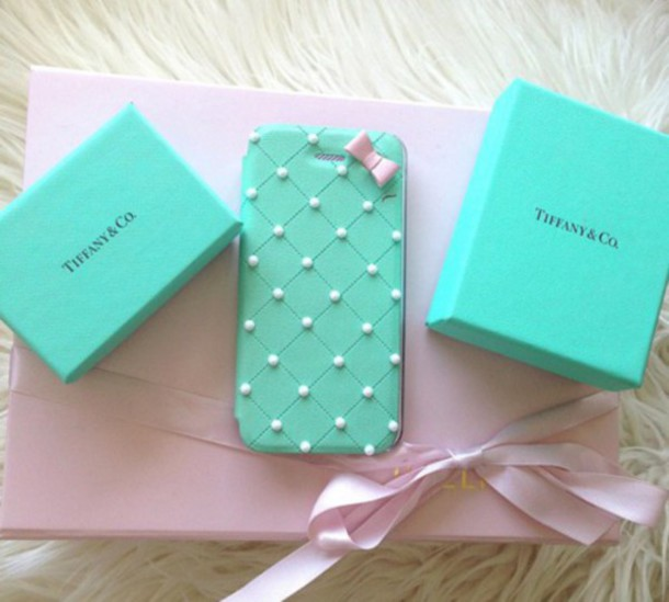 tiffany iphone case phone cover iphone blue tiffanys 13104
