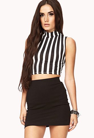 Standout Striped Crop Top | FOREVER21 - 2000072475