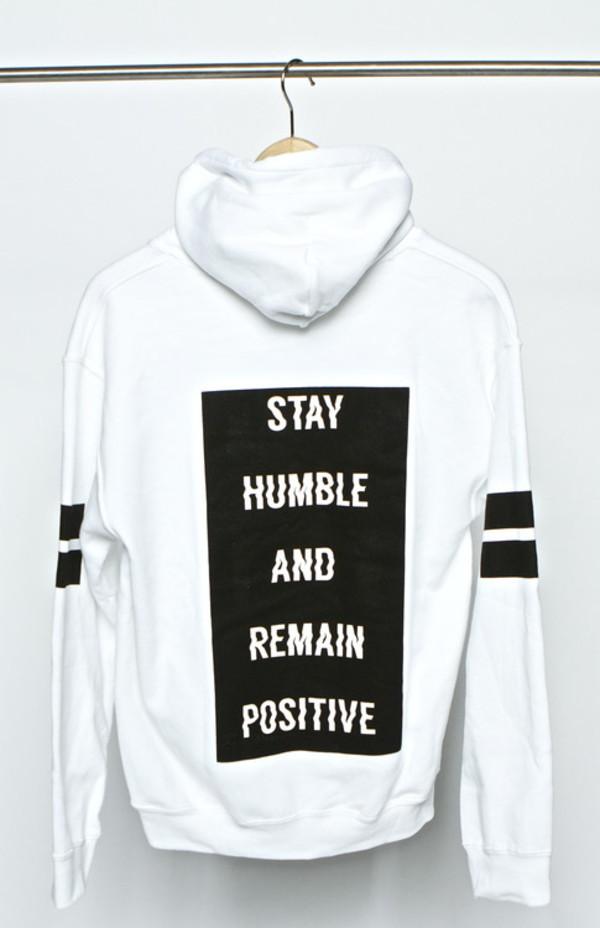 hoodie sweatshirt white black urban new years resolution winter swag sweater