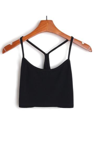 Black White Short Vest [FCBI00221] - PersunMall.com