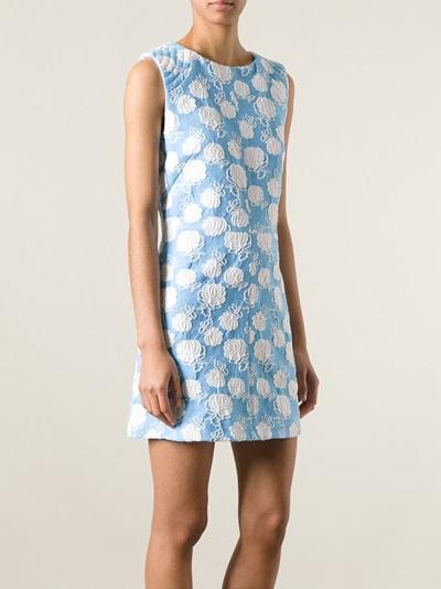 Msgm Floral Crochet Dress - Twist'n'scout-paleari Online Store - Farfetch.com