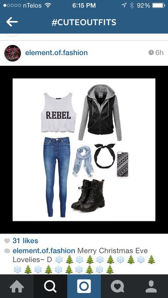 top rebel tank top rebel t shirts jacket jeans shoes phone cover scarf hair accessory