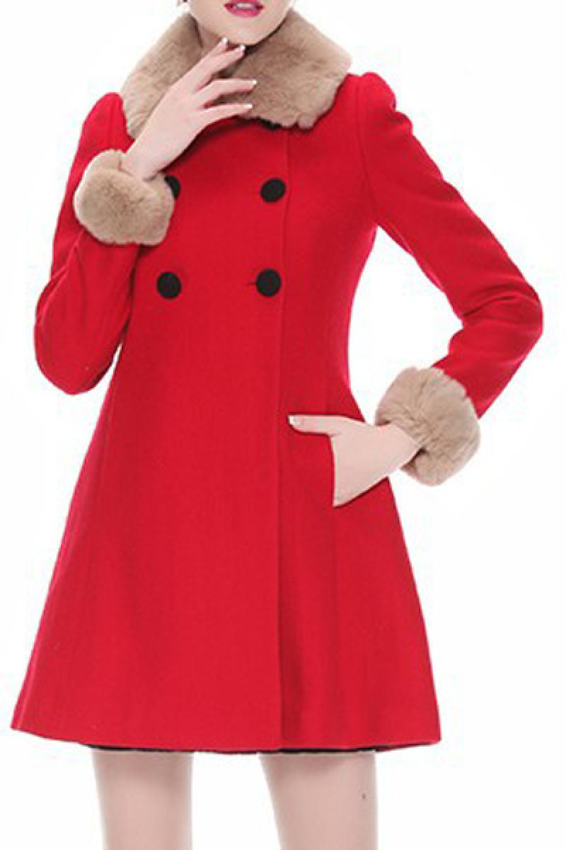 2013 Autumn & Winter New Section Ladies Woolen Overcoat,Cheap in Wendybox.com