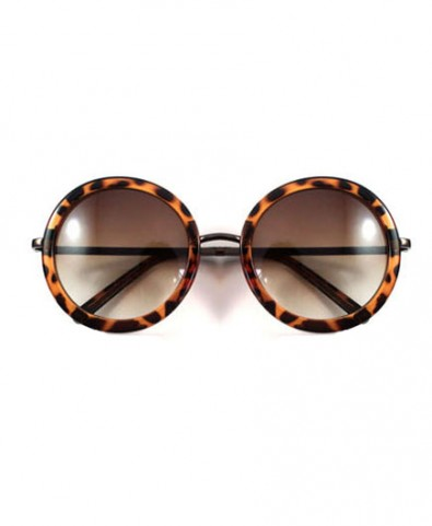 Vintage Round Sunglasses with UV Protection - Eyewear - Accessories - Bags & Accessories