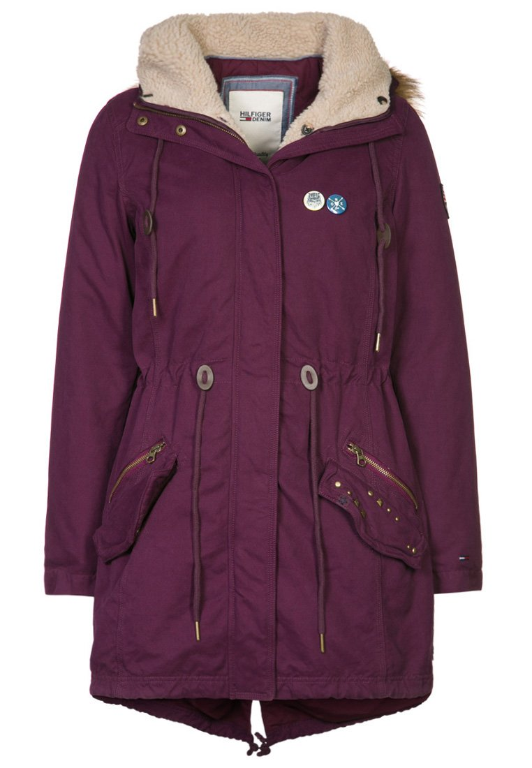 Hilfiger Denim ISABELLA - Parka - purple - Zalando.co.uk