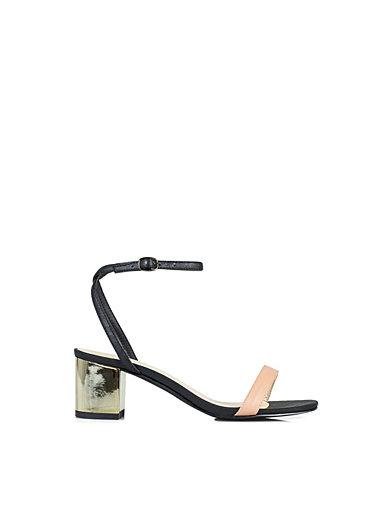 Gold Low Sandal - Nly Shoes - Svart/Nude - Hverdagssko - Sko - Kvinne - Nelly.com