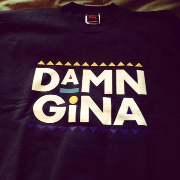 t-shirt martin damn gina 90s style martin lawrence