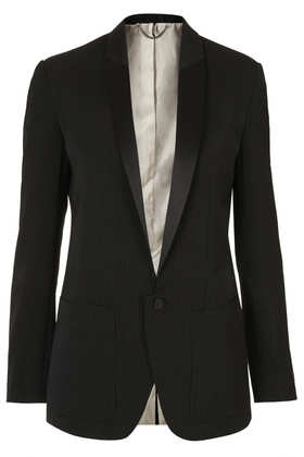 Modern Tailoring Polkadot Tux Jacket - Jackets & Coats  - Clothing  - Topshop