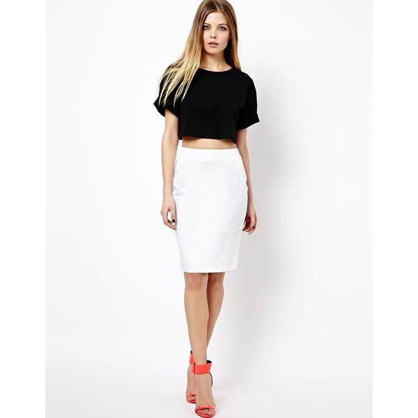 ASOS High Waisted Pencil Skirt - Polyvore