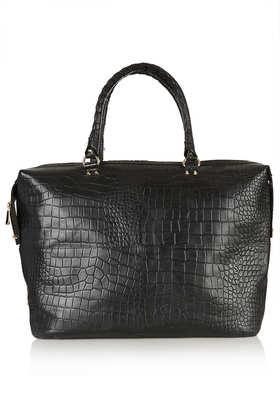 Croc Luggage Bag - Bags & Purses  - Bags & Accessories  - Topshop