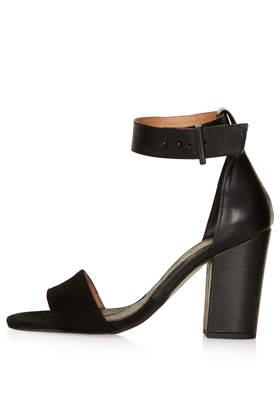 RAMBLE Leather Sandals - Heels - Shoes - Topshop