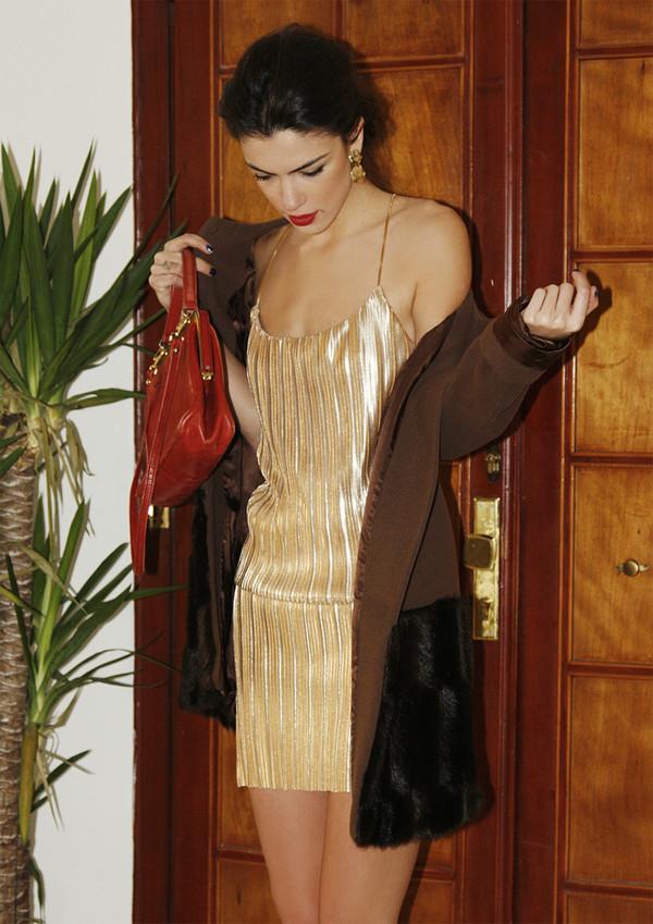 maritsa dress coat bag jewels