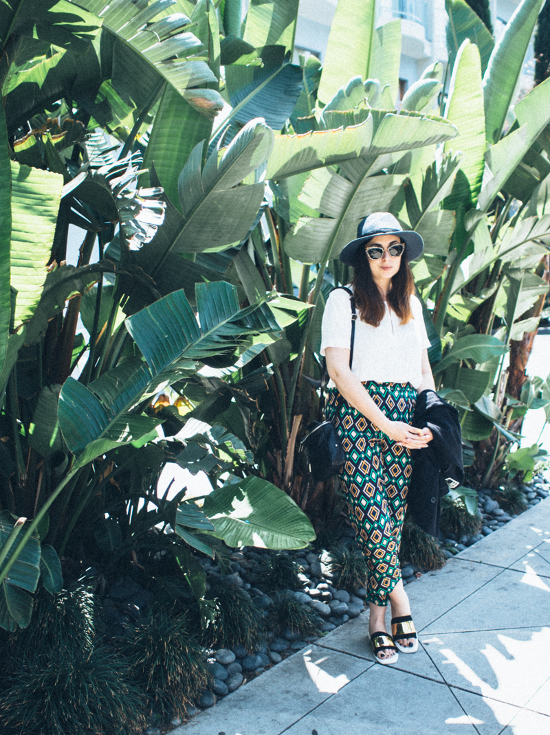 Mademoiselle Robot: How I Wear - Printed Trousers