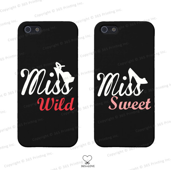phone cover bff bff bff phone covers matching phone covers for best friends bff miss wild miss sweet sweet and wild matching phone cases matching phone covers iphone 4 case iphone 5 case iphone 5 case galaxy s4 case galaxy s5 cases galaxy s3 case