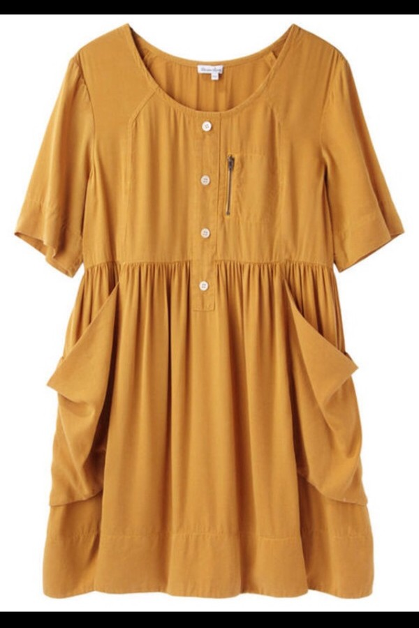 dress yellow small cute lovely sweet