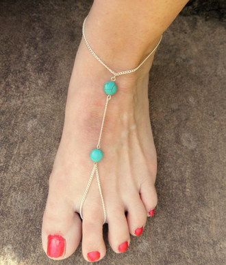 jewels anklet turquoise jewelry turquoise anklet young and forever crazeemania