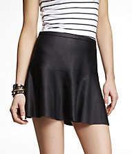 (MINUS THE) LEATHER FIT AND FLARE SKIRT | Express