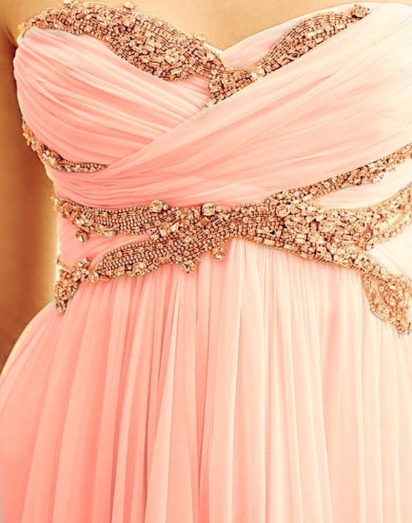 dress pink strapless jeweled strapless dress light pink pink dress prom dress sequins sequin dress sequin prom dress blush pink blush maxi dress beaded chiffon sweetheart neckline baby pink coral dress coral white dress white sequins pattern bag long dress pretty long prom dress pink prom dress beautiful prom dress prom pinterest cute dress dress clothes graduation promotion gold and red 8th grade common white girl starbucks coffee short dress formal evening dress party dress beaded dress formal dress formal event outfit pink and gold short pretty light gown gems bling gold