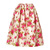 Taffeta Ikat Skirt in Rose/Begonia/Nude from MICHAEL KORS | Luxury fashion online | STYLEBOP.com