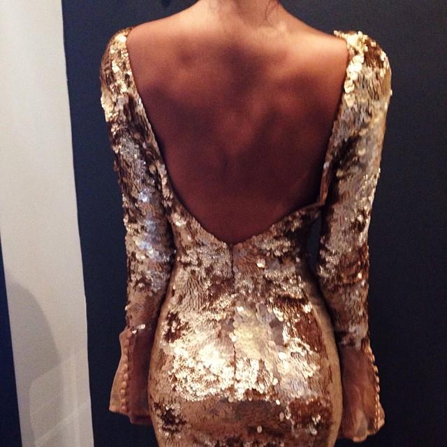Joy Hysteric Blog: Back view of the @_aje_ Libertine Mini Dress ||...