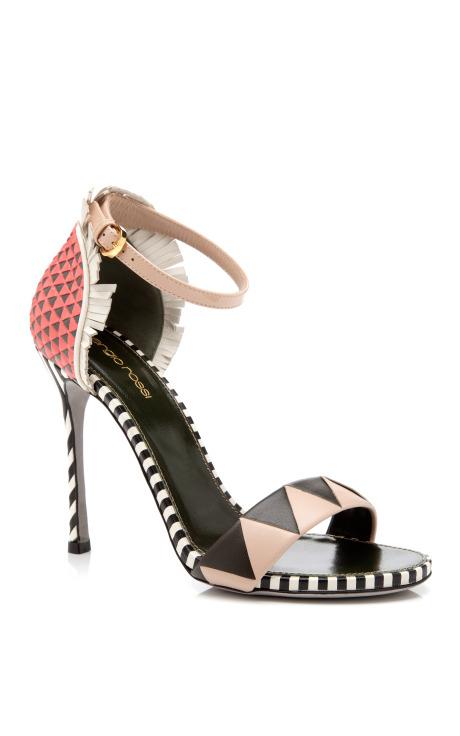 Oberoj Ankle Strap High Heel Sandal by Sergio Rossi - Moda Operandi