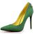 Suede Pointed Toe OL Stiletto Heel Mature Pumps : KissChic.com