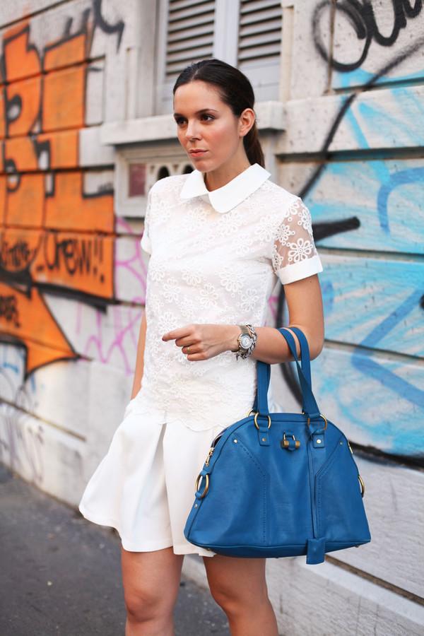 irene closet skirt shoes bag shirt