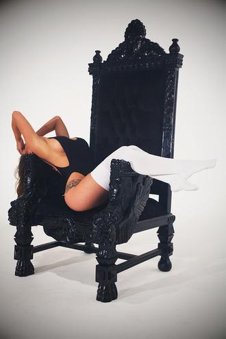 underwear bodysuit leotard black cut-out low cut fashion tumblr