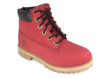 Woman Boots Deals Timberland-6598 Rojo 111,78