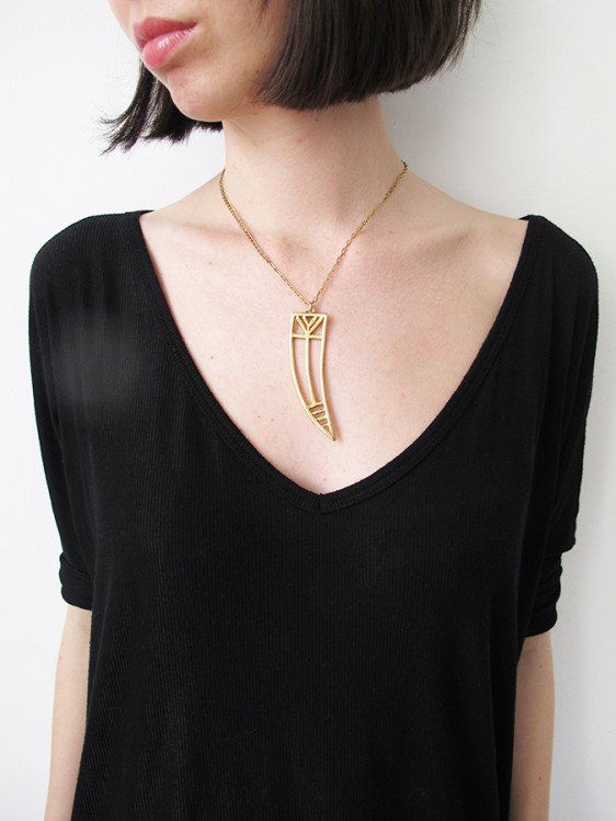 Tusk Necklace | Ax Apple