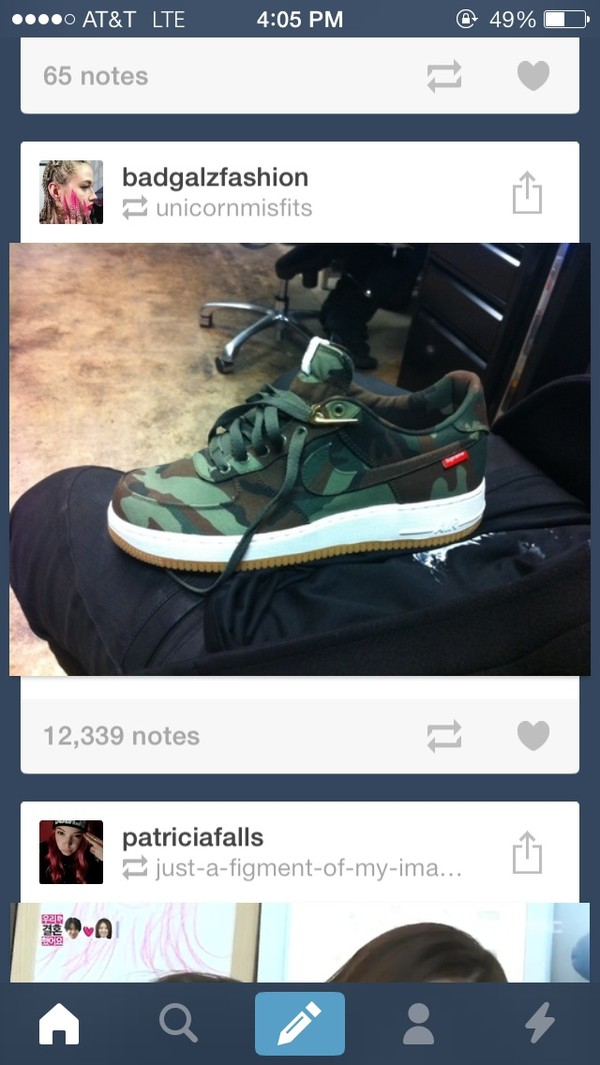 shoes nike air force 1 camouflage nike camouflage supreme