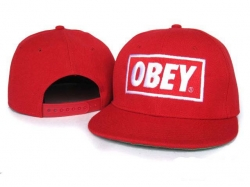 Obey Snapback Hat&Cap Red [Obey016] - $7.50 :