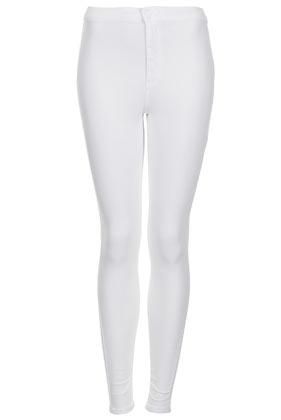 MOTO White Joni Jeans - Topshop USA