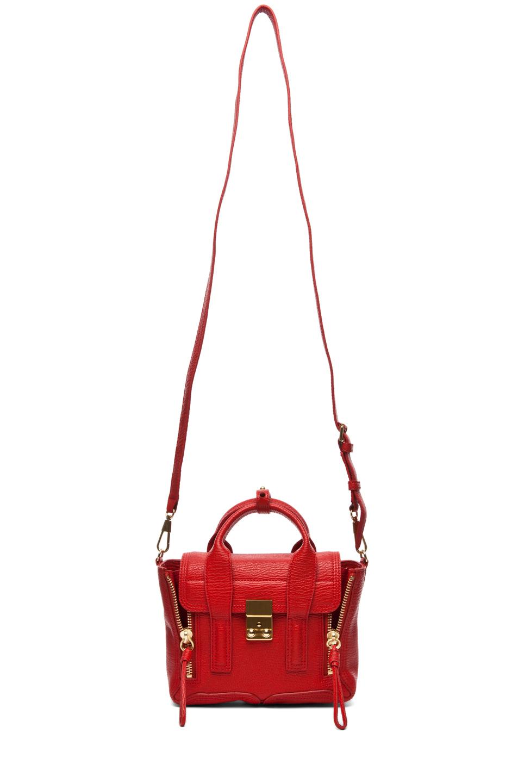 3.1 phillip lim|Mini Pashli Satchel in Red