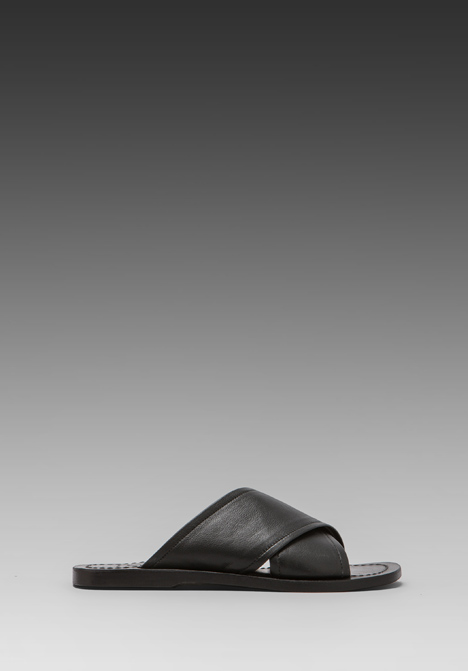 ELLIOTT LABEL Slide Sandal in Black at Revolve Clothing - Free Shipping!