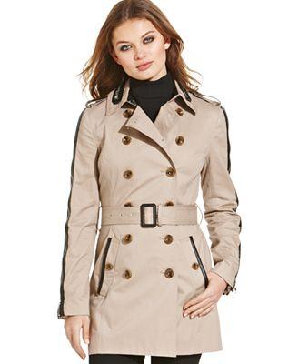 W118 by Walter Baker Ollie Trench Coat - Coats - Women - Macy's