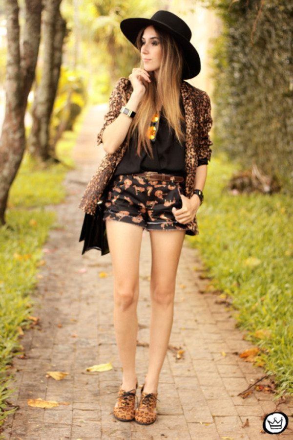 fashion coolture shorts t-shirt jacket hat bag sunglasses shoes