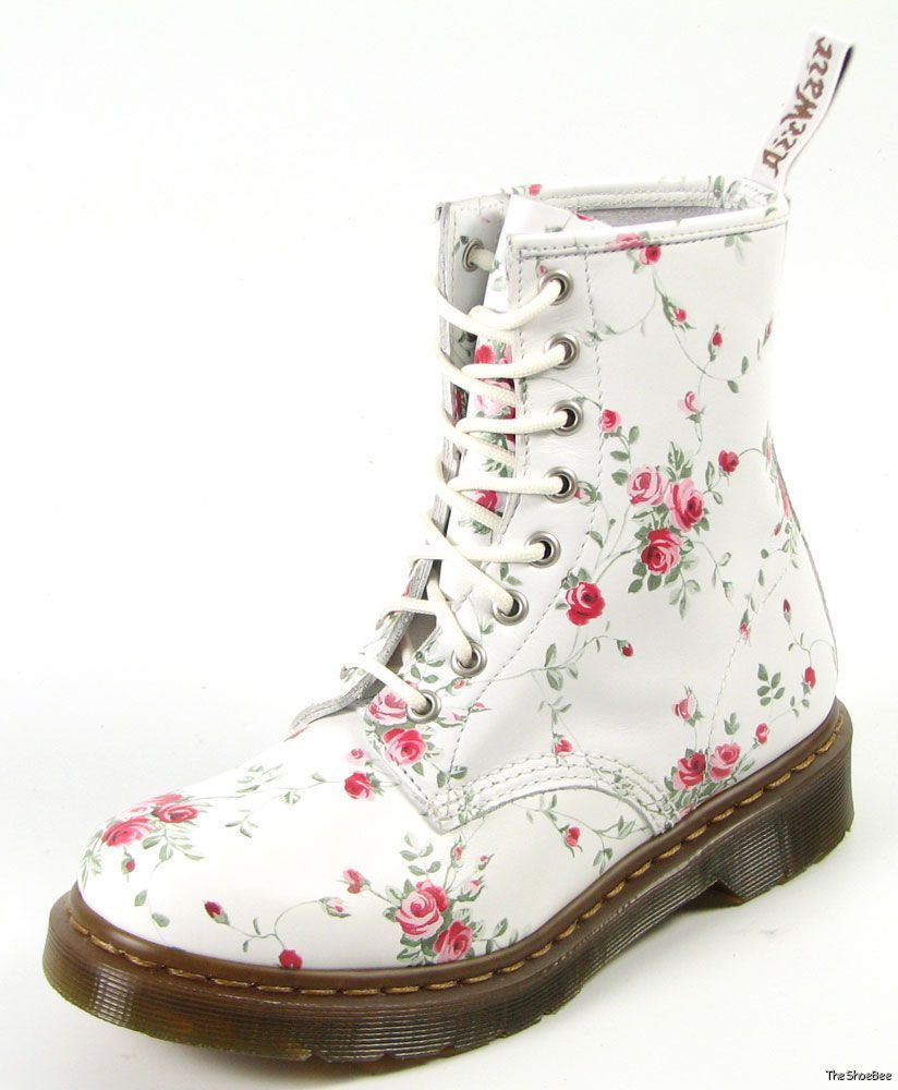 New Dr Doc Martens Portland Rose 1460 Boots UK 7 US 9 R11821111 | eBay
