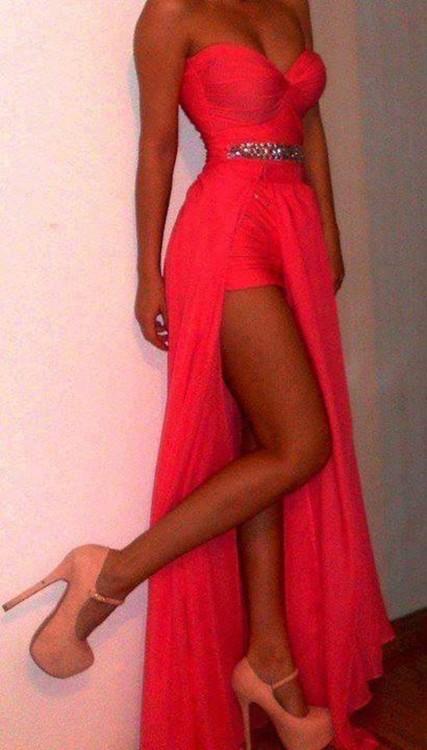 Custom Made Sweetheart Neckline Prom Dress - LaFashioniStar's
