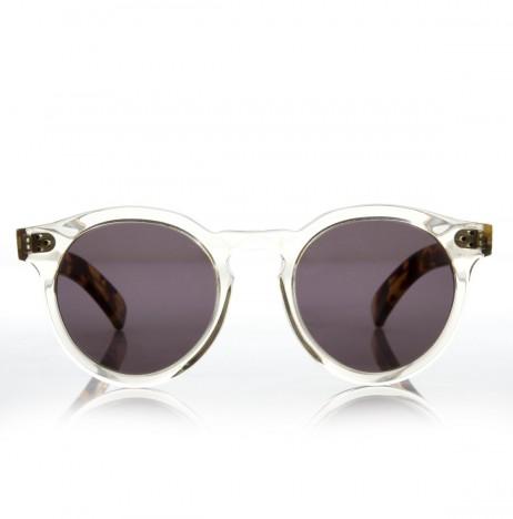 Leonard II Illesteva Clear Tortoise Sun Glasses | The Dreslyn