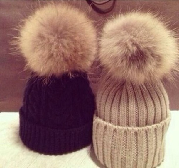 8ea327e0c9a Knit Hat With Pom Pom  DD13 – Advancedmassagebysara