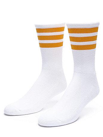 Stripe Calf-High Sock | American Apparel