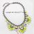 Fashion Luxury Golden Neon Yellow Flower Resin Bib Statement Necklace Collar | eBay