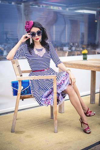macademian girl dress bag shoes sunglasses jewels belt