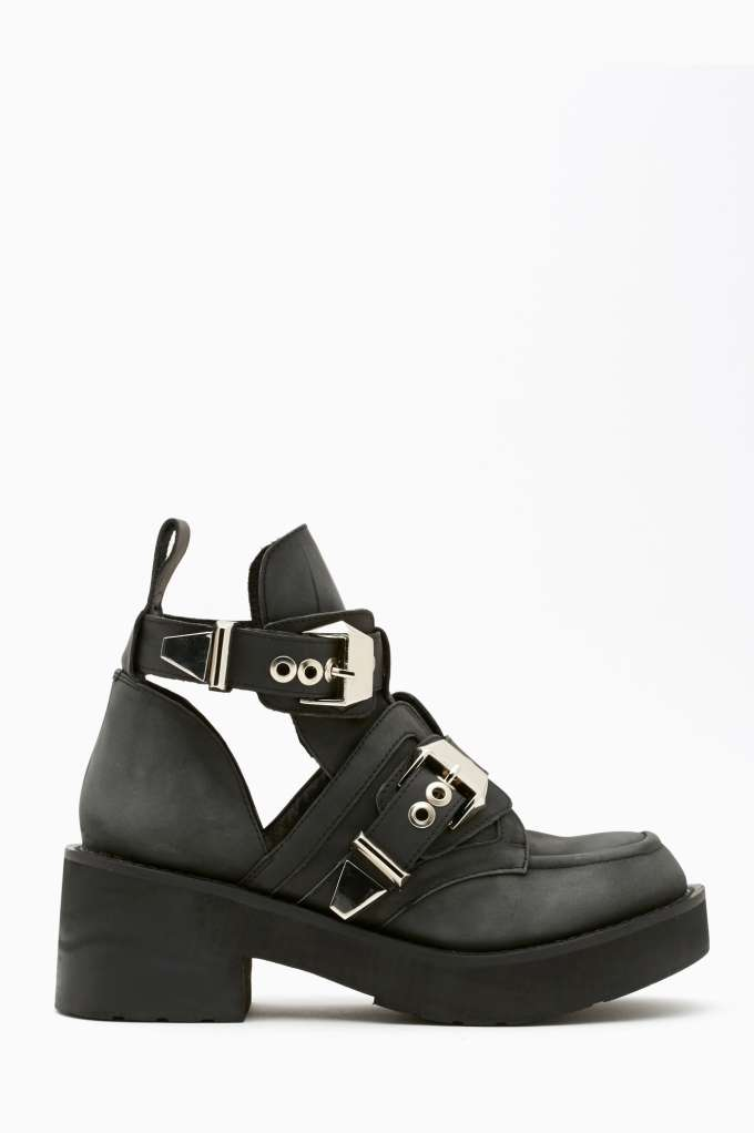 Jeffrey Campbell Coltrane Cutout Boot in  Shoes at Nasty Gal