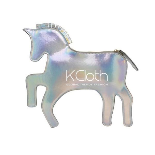 bag unicorn bag kcloth unicorn clutch